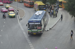 Bangkok bus car Stock Photos