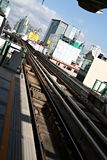 Bangkok-Bus Rapid-Transportsystem Lizenzfreie Stockfotografie