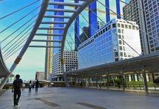 Bangkok - Business area Royalty Free Stock Image