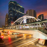 Bangkok business center District Royalty Free Stock Photo