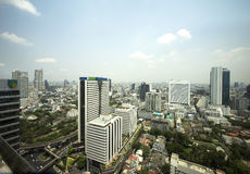 bangkok byggnader Royaltyfri Bild