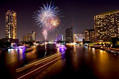 Bangkok, capital city of Thailand Stock Image