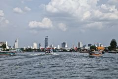 Bangkok. Is the capital and the most populous city of Thailand royalty free stock image