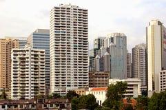 bangkok centrum fotografia royalty free