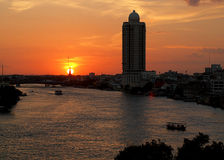 Bangkok Chao Phraya River. Stock Image