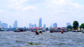 Bangkok Chao Phraya river Stock Images