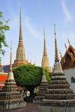 bangkok chedis s pho Thailand wat świątyni Zdjęcie Stock