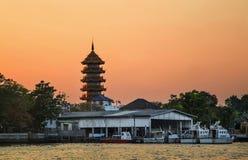 Bangkok Chee Chin Khor Temple Royalty Free Stock Image