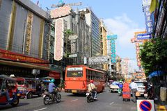 Bangkok China Town Stock Photo