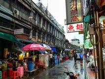 bangkok chinatown arkivbilder