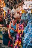 Bangkok, 12 11 18: Chinatown stockbilder