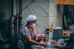 Bangkok, 12 11 18: Chinatown lizenzfreies stockfoto
