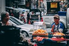 Bangkok, 12 11 18: Chinatown stockfotos