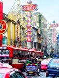 Bangkok Chinatown droga Obrazy Royalty Free