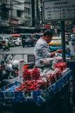 Bangkok, 12.11.18: Chinatown stock photo