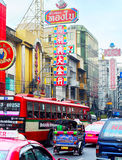 Bangkok Chinatown road Royalty Free Stock Images