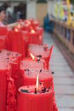 BANGKOK, Chinatown/THAILAND- 10 febbraio: Nuovo anno cinese di cinese di tradizioni dell'nuovo anno Fotografia Stock