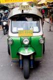 Bangkok Chinatown Tuktuk Stockbilder