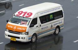 919 Bangkok - Chonburi van taxi Stock Image