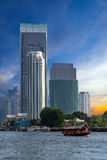 Bangkok city. Royalty Free Stock Photo