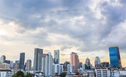 Bangkok city, Bangkok metropolis nonsi bts landmark of thailand. Stock Image