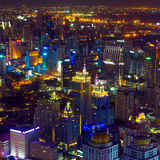 Bangkok city center royalty free stock photos
