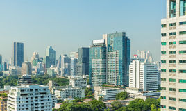 Bangkok city. Scape, Business district. Day view, Thailand Stock Image
