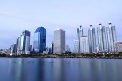 Bangkok city downtown Royalty Free Stock Photo