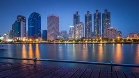 Bangkok city downtown Thailand Stock Images