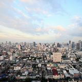 Bangkok city downtown Royalty Free Stock Photos