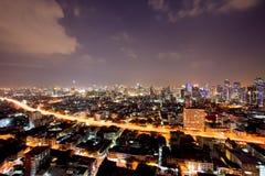 Bangkok city downtown Royalty Free Stock Image