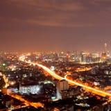 Bangkok city downtown Stock Photos