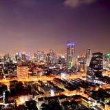 Bangkok city downtown Stock Images