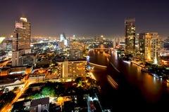 Bangkok city downtown Stock Image