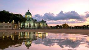 Bangkok City - Dusit Palace , Ananta Samakom Throne Hall in Bangkok. Beautiful sunset , Landscape Thailand Stock Photography