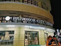 Bangkok Library royalty free stock photos