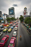 Bangkok city life. Royalty Free Stock Images