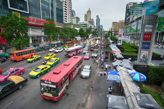 Bangkok city life. Royalty Free Stock Photo