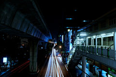 Bangkok City at night! Royalty Free Stock Photos