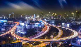 Bangkok city night Stock Images