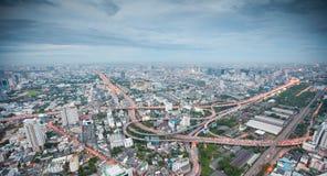 Bangkok city at night Royalty Free Stock Image