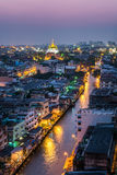 Bangkok city night Stock Photography