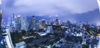 Bangkok city night view Royalty Free Stock Photo