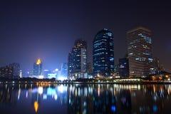 Free Bangkok City Night View Stock Image - 27641241
