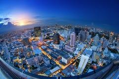Bangkok city night view Stock Photo