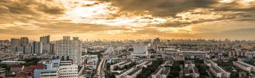 Bangkok city panorama Royalty Free Stock Images