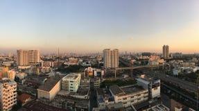 Bangkok city panorama Royalty Free Stock Photography