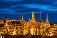 Bangkok City Pillars Shrine and Wat Phra Kaew Stock Images
