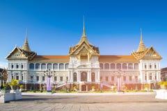 Bangkok city royal palace. Thailand historic landmark Royalty Free Stock Images