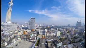 Bangkok City Scape stock footage